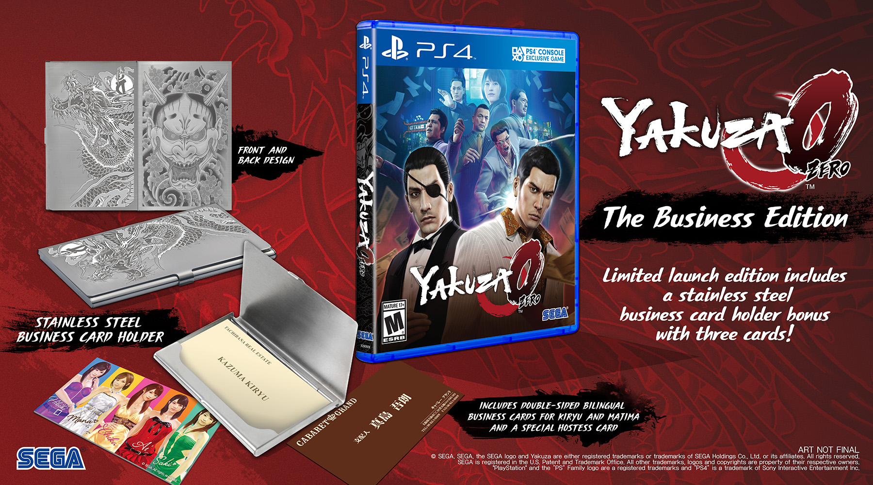 Updated Sega Announces Yakuza 0 The Business Edition And