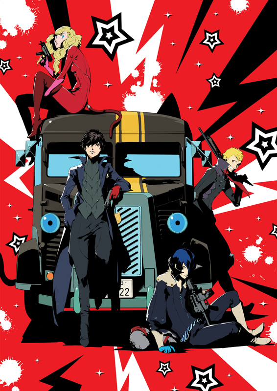 persona5 the animation the day breakers bluray dvd front cover