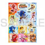 Sonic Fire & Ice stickers