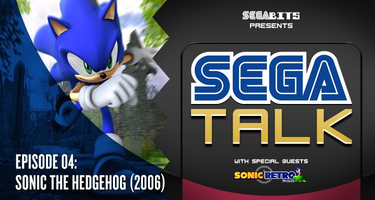 SEGA Talk Header Sonic 06