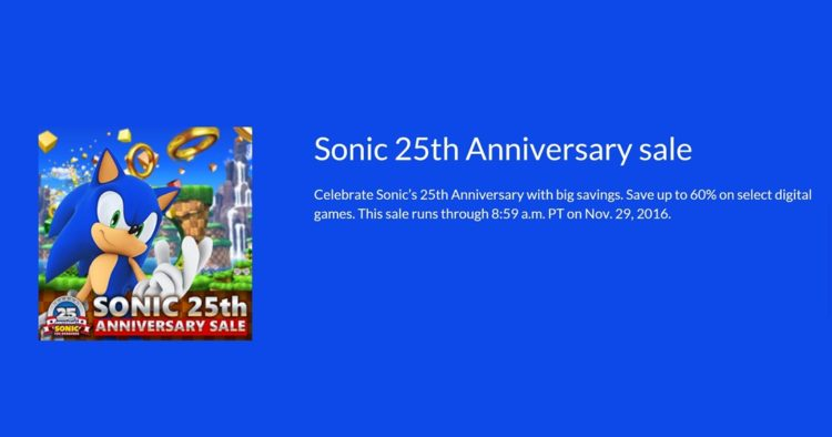 sonic-25th-anniversary-sale