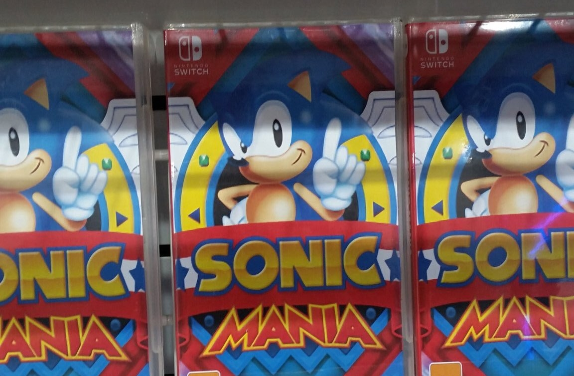 sonic mania physical