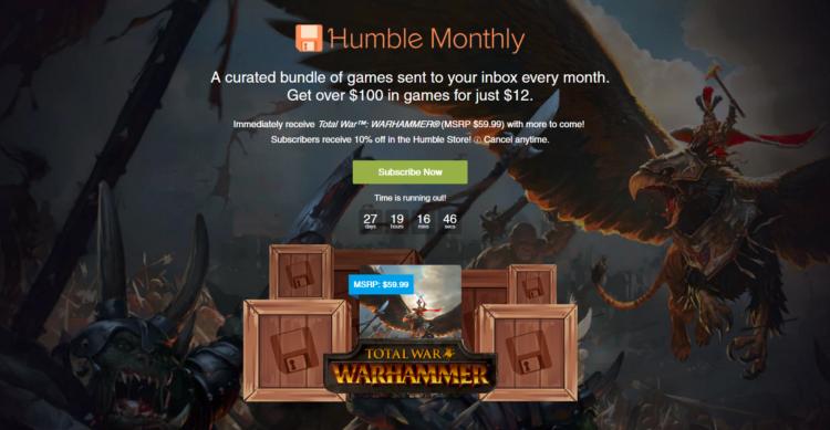 humbletotalwarmonthlybundle