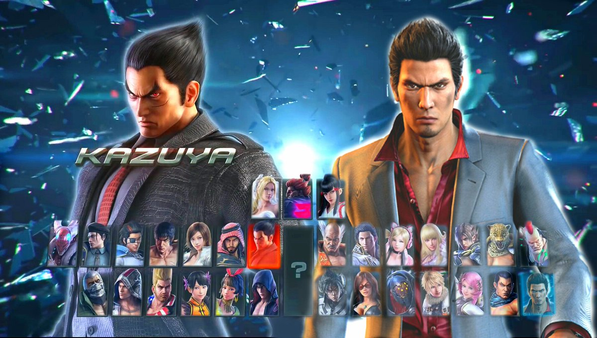 Why Yakuza S Kazuma Kiryu Should Be In Tekken 7 Segabits 1