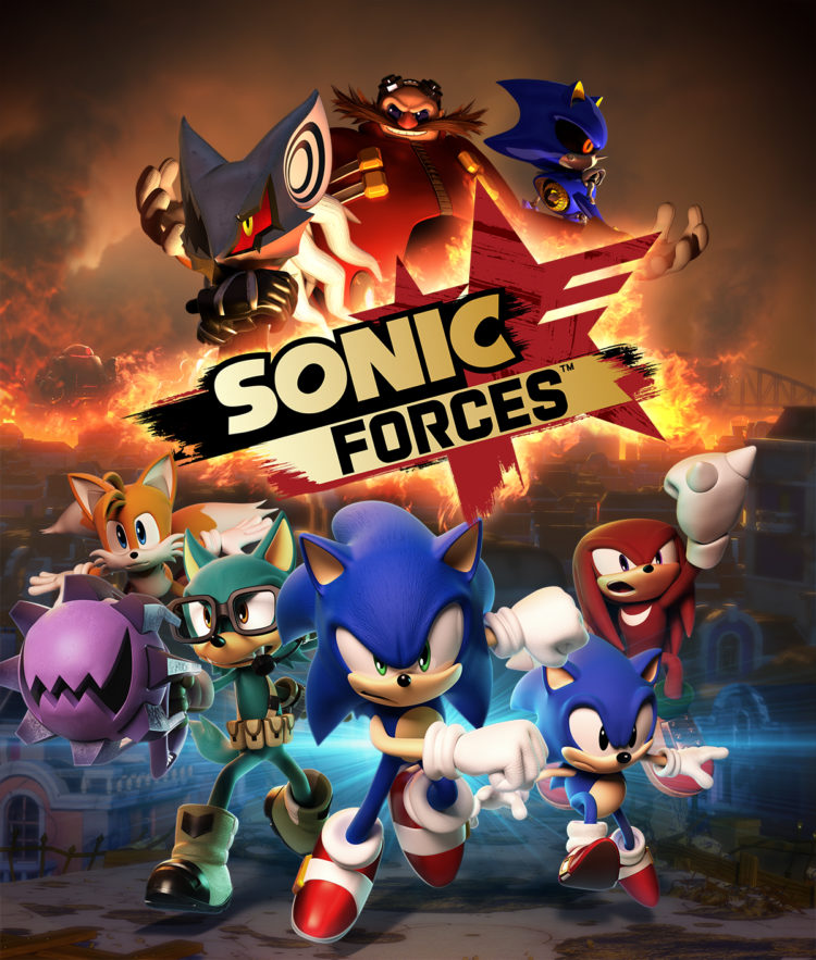 Sonic Forces Art