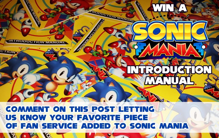 Giveaway: Sonic Mania Introduction Manual » SEGAbits - #1 Source for