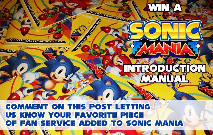 Sonic Mania Website