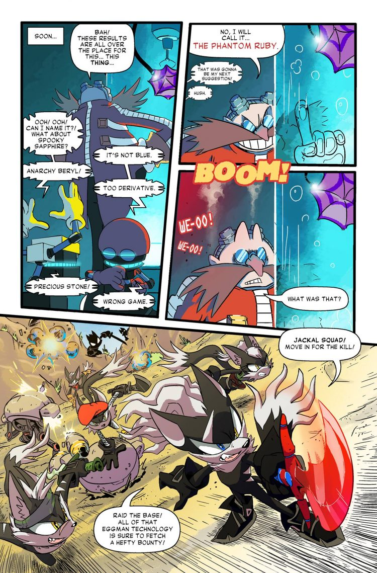 Sonic Forces Digital Comic Showcases The Rise Of Infinite