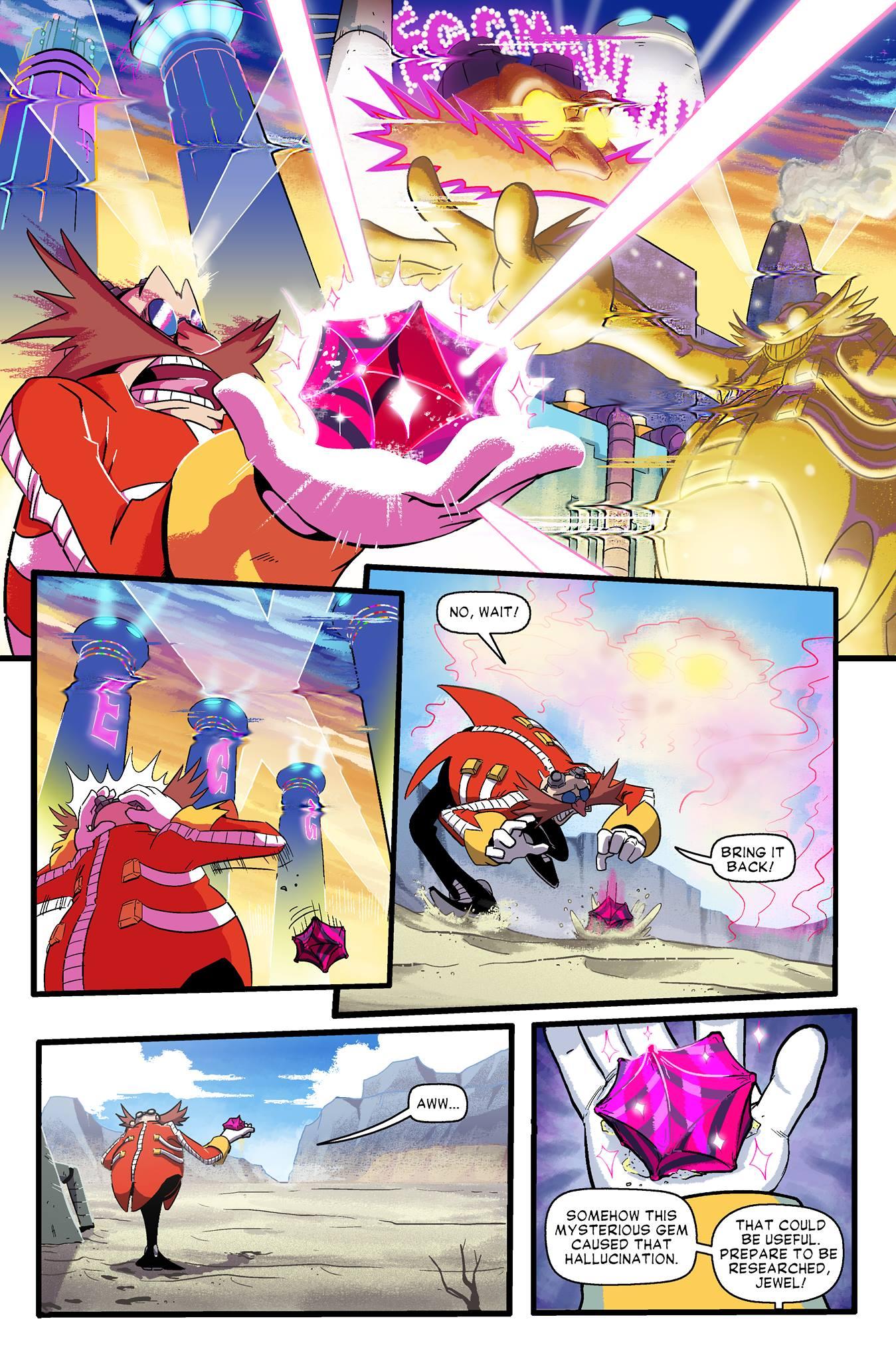 Sonic Forces Digital Comic Showcases The Rise Of Infinite Segabits 1 Source For Sega News