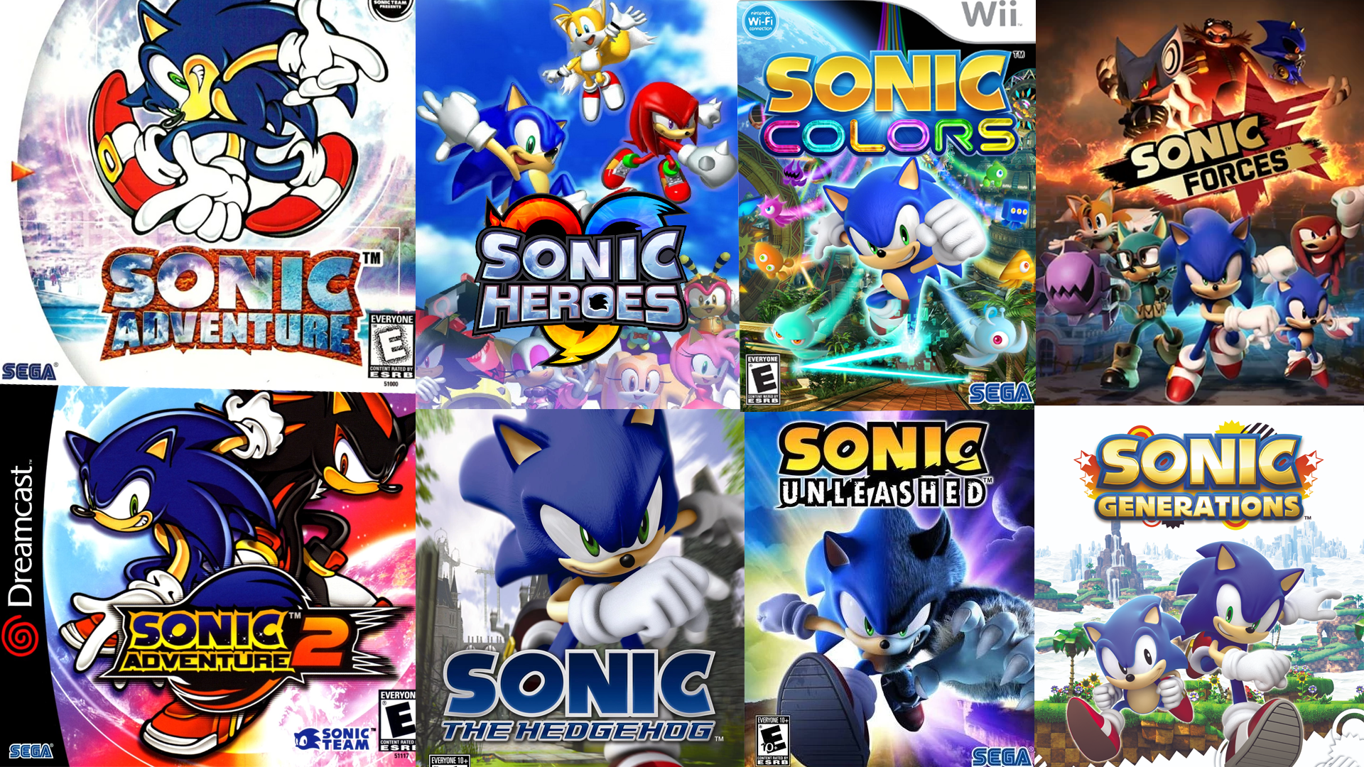 What Is The Best 3d Sonic The Hedgehog Video Game Segabits 1 Source For Sega News
