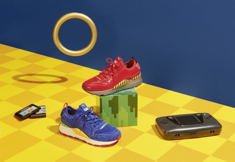 f4ee3654a28 SEGA has sent us a bunch of images showing off the upcoming Sonic the  Hedgehog sneaker collaboration between PUMA and SEGA. Set to hit stores  June 5