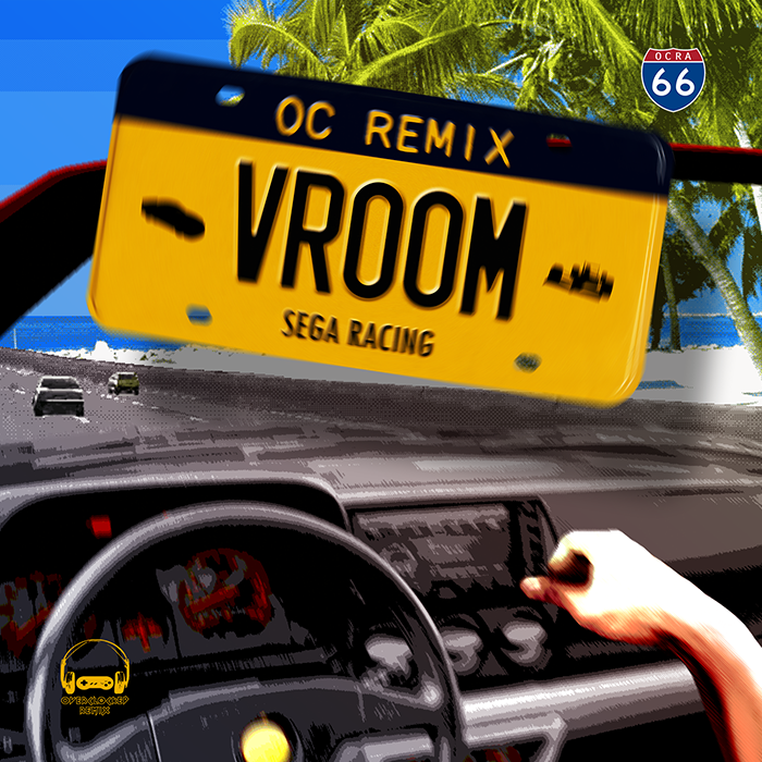 New OverClocked ReMix album VROOM: Sega Racing releases, celebrating