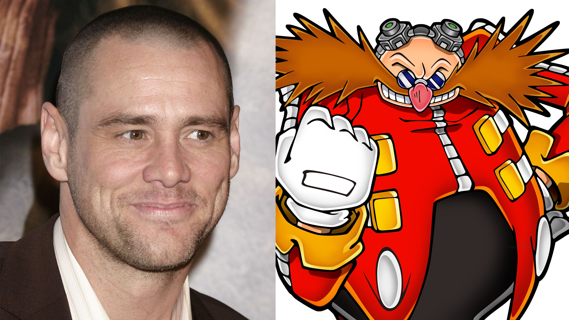Jim Carrey Will Play Villain Robotnik In The Upcoming Sonic The Hedgehog Movie Segabits 1 Source For Sega News