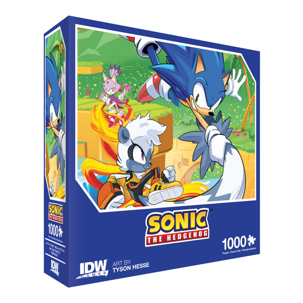 Idw Games Announces Premium Collector Sonic The Hedgehog Jigsaw Puzzles Segabits 1 Source For Sega News
