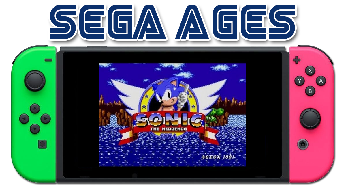 SEGA AGES debuts on Nintendo Switch with Sonic the Hedgehog