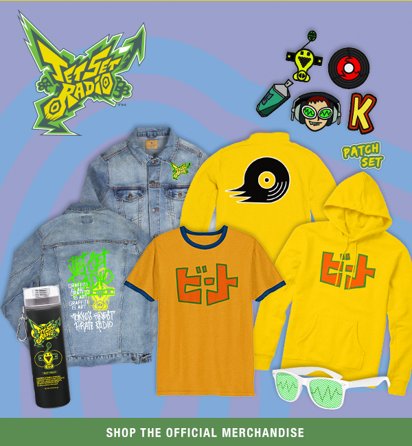 ea04fb37df SEGA Shop adds Jet Set Radio merchandise » SEGAbits -  1 Source for ...