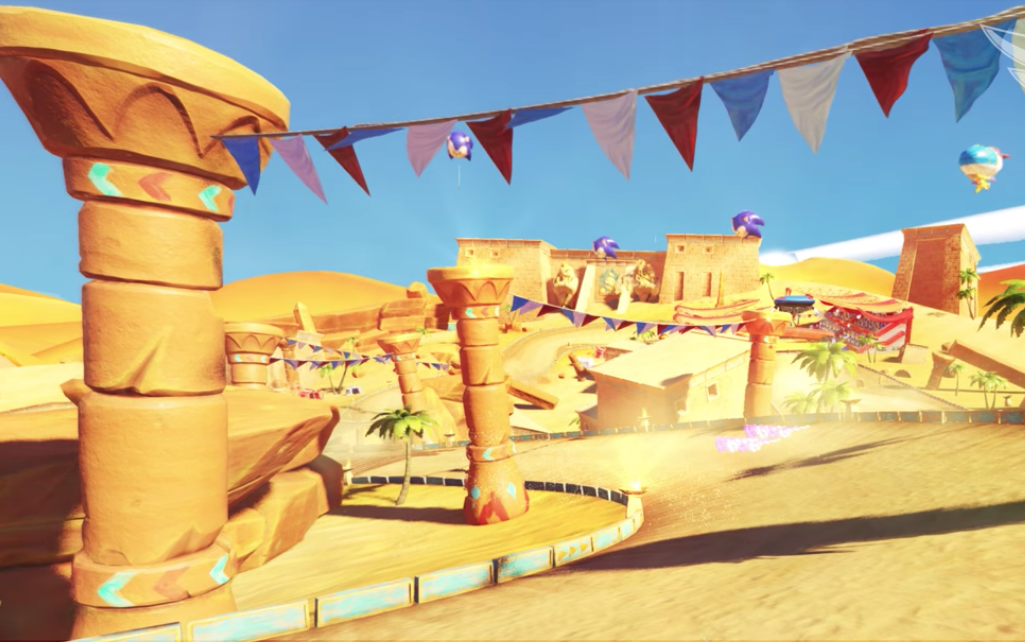New Team Sonic Racing Track And Tune Revealed Sand Road Takes Us Back To Sand Hill Segabits 1 Source For Sega News