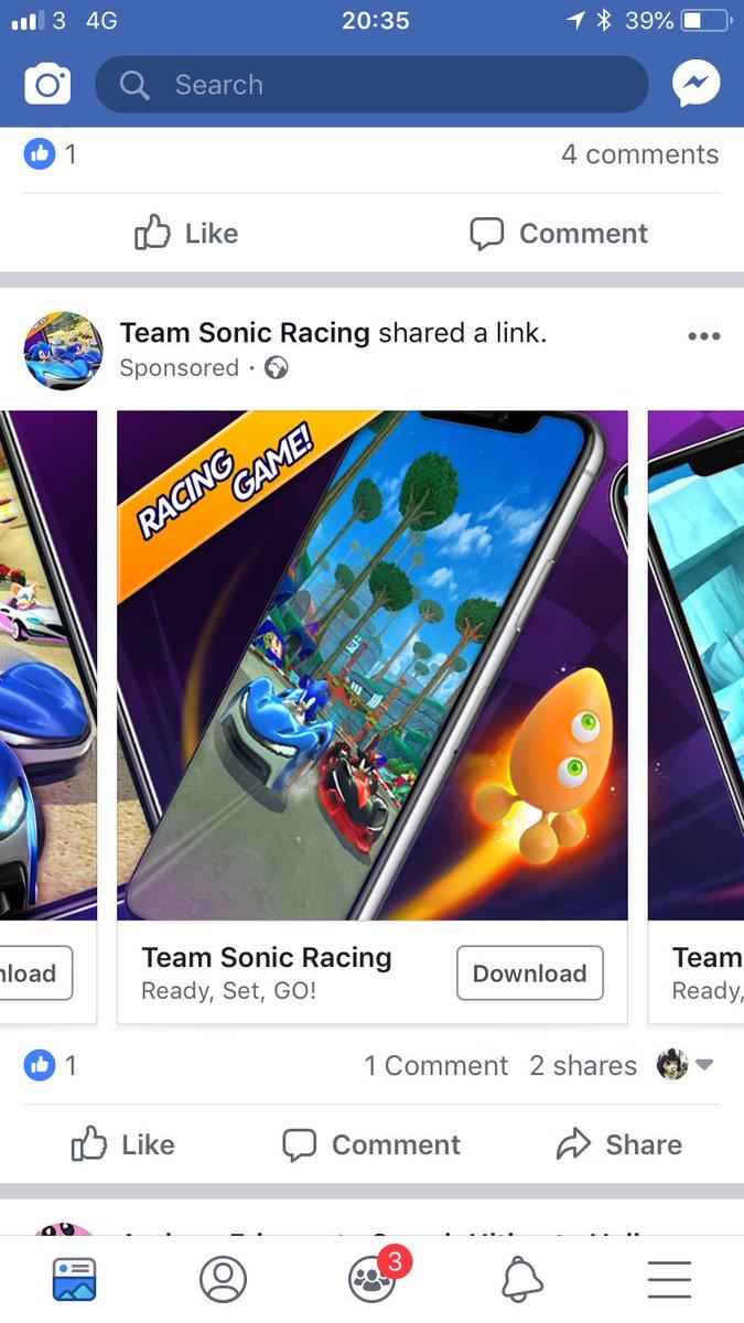 Team Sonic Racing mobile release revealed » SEGAbits - #1