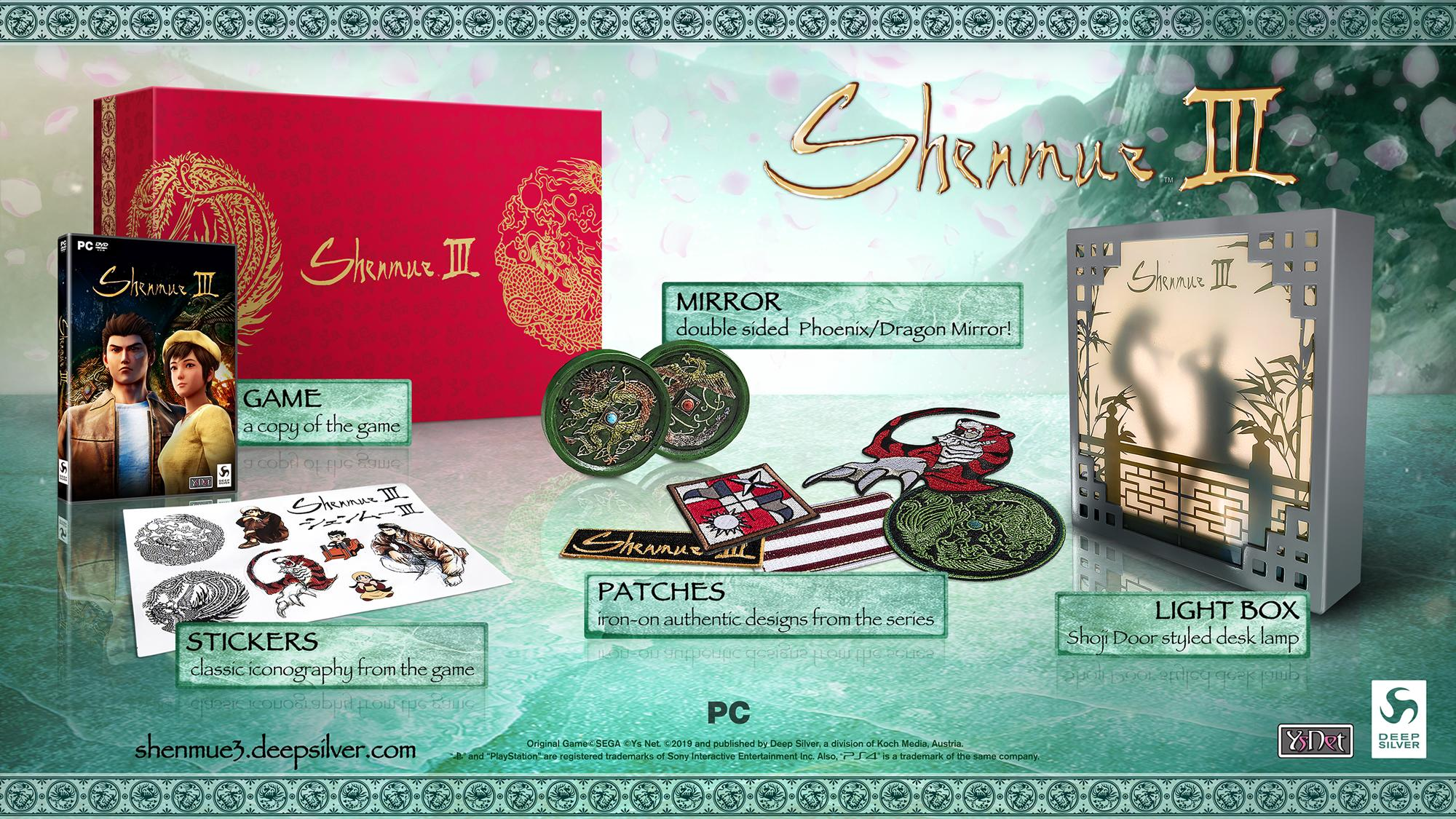 Shenmmue Iii Getting Collector S Edition From Limited Run Games