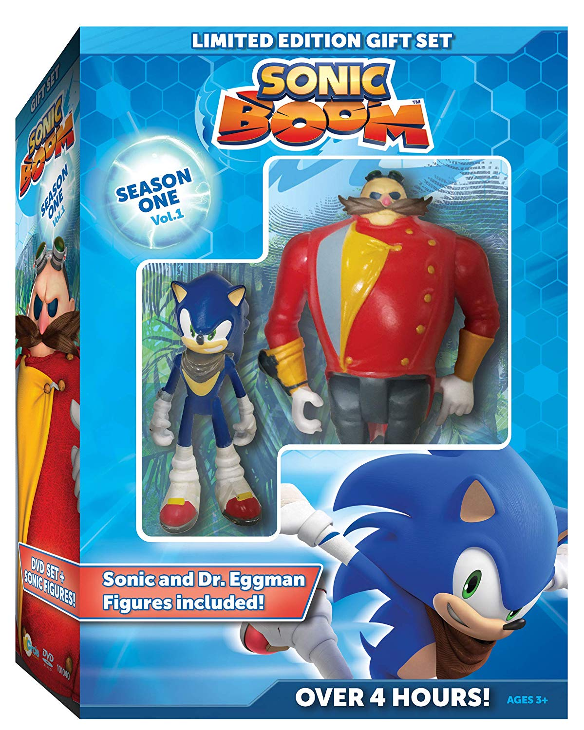 Sonic Boom Season 1, Volume 1 DVD announced for America – includes action figures!