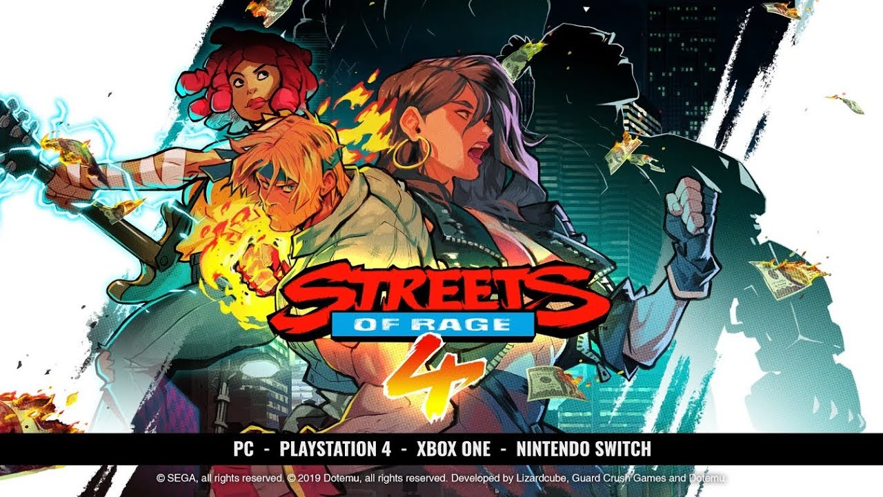 Streets of Rage 4 reveals new character and announces Nintendo Switch release