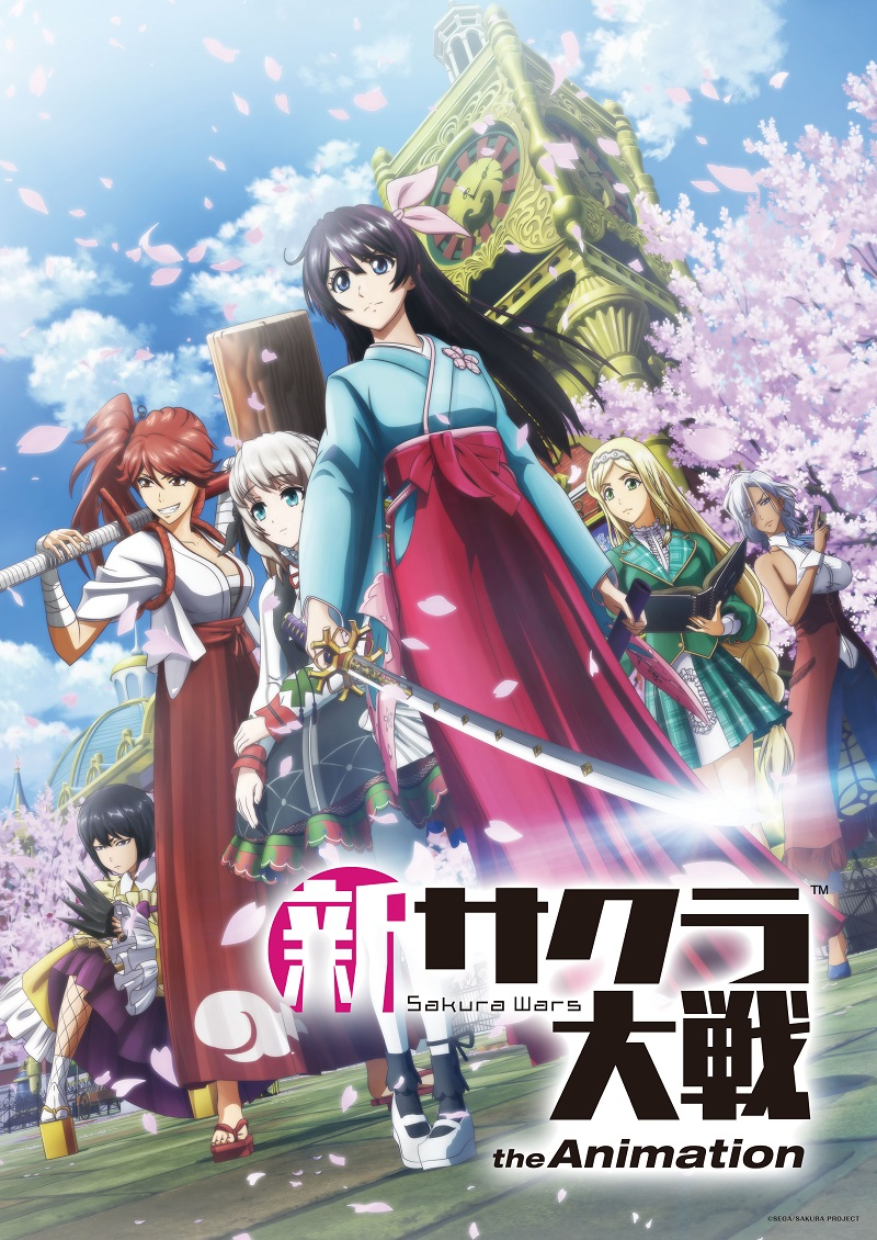 Shin Sakura Taisen the Animation broadcast date announced with First Look Clips