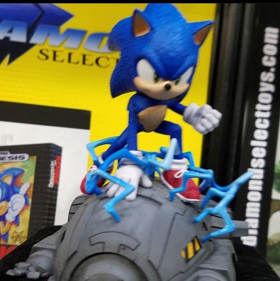 New Sonic Toys from Diamond Select & Jakks Pacific revealed at NY Toy Fair 2020