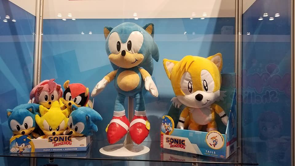 New Sonic Toys From Diamond Select Jakks Pacific Revealed At Ny Toy Fair 2020 Segabits 1 Source For Sega News