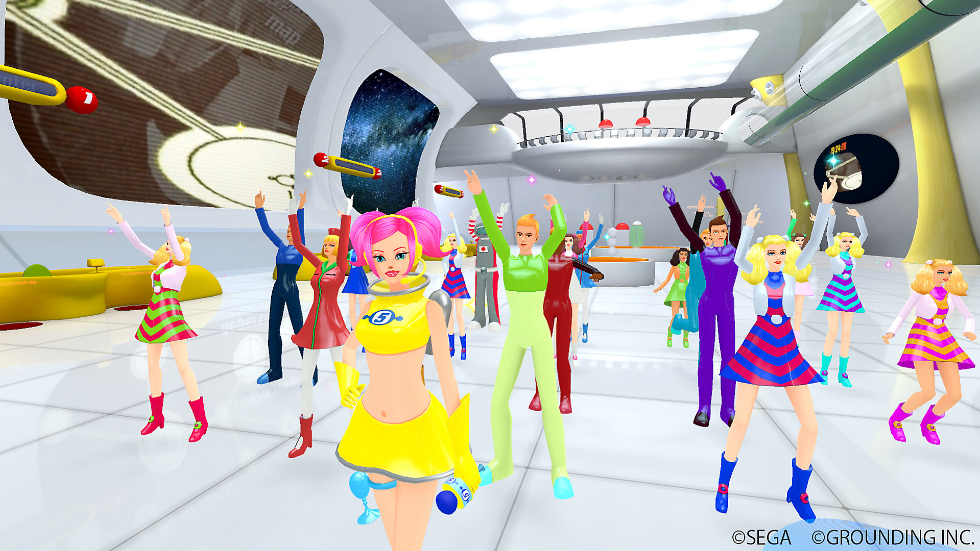 Space Channel 5 VR launches on February 25 on PlayStation 4
