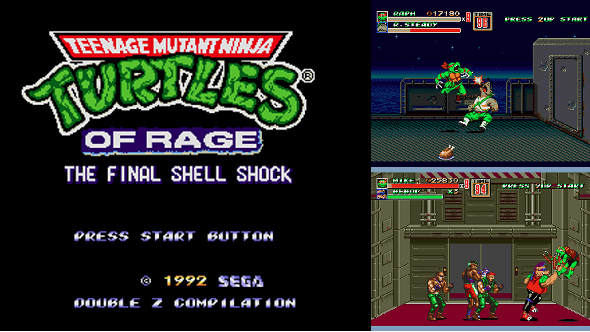 Tmnt Of Rage The Final Shell Shock The Ultimate Streets Of Rage Tmnt Rom Hack Arrives Segabits 1 Source For Sega News